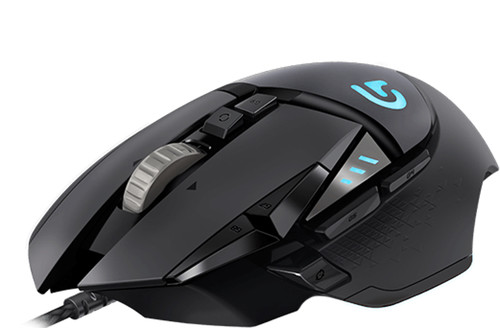 Logitech G502 Gaming Mouse + Supermassive Mouse Pad