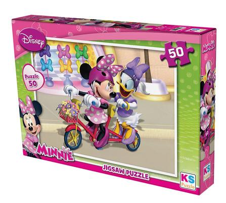 Ks Games Minnie Mouse 50 Parça Puzzle