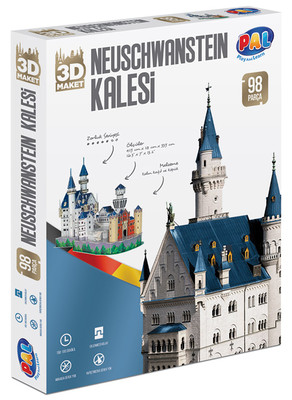 Pal-3D Puz.Neuschw.Alman Kalesi