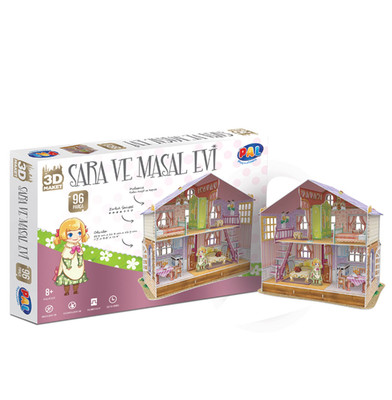 Bal Oyuncak 3 Boyutlu Sara Home Maket Puzzle