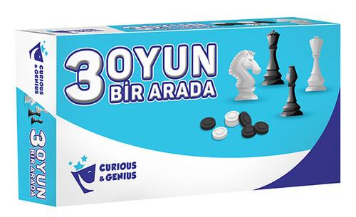 C&G-Kutu Oyn.3Oyun Bir Arada Set