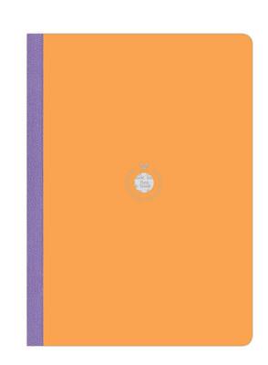 Flexbook-Akıllı Defter Çizgili Turuncu A4 Boy