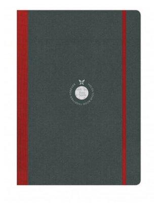 Flexbook Defter Çizgili Kırmızı A4 Boy