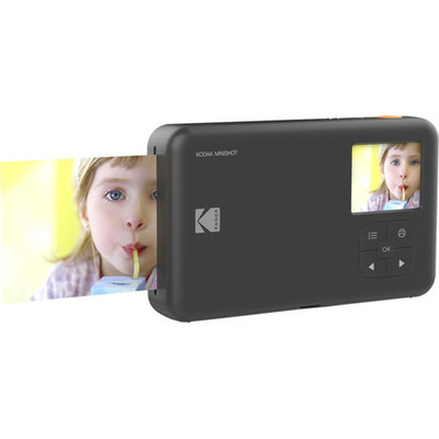 Kodak Mini Shot MS 210 Anında Baskı Dijital Fotoğraf Makinesi Siyah