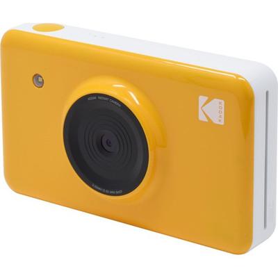 Kodak Mini Shot 1.7inç LCD, 4PASS, 10MP Anında Baskı Dijital Fotoğraf Makinası + Akıllı Telefondan Sarı