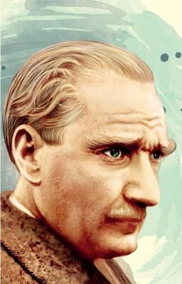 Atatürk 3  Yumuşak Kapaklı Defter - Aylak Adam Hobi