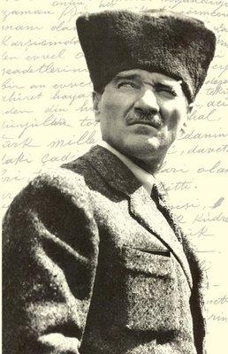 Atatürk 5 Yumuşak Kapaklı Defter - Aylak Adam Hobi