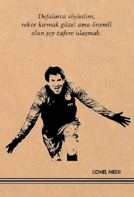 Lionel Messi Kraft Defter - Aylak Adam Hobi