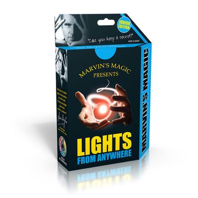 Marvin's Magic - Işıklı Parmaklar Sihirbazlık Seti