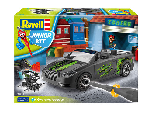 Revell Maket Junior Kit Roads Tuning Design 813