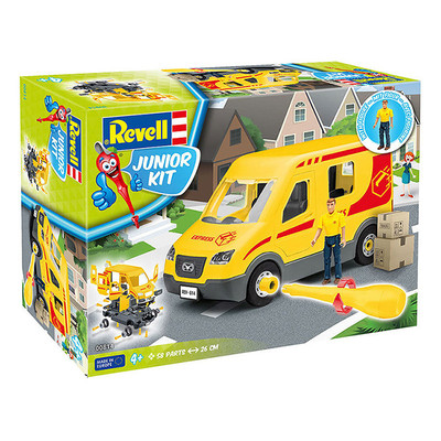 Rev-Maket Jr.Kit DeliveryTruckİncl.Figür