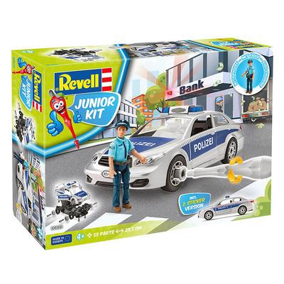 Revell Junior Kit 1:20 Figürlü Polis Arabası 00820
