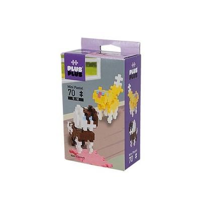 PlusPlus 70 Parça Mini Pastel Cat&Dog