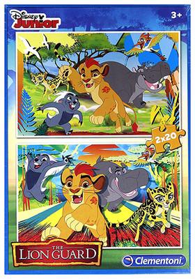 Cle.Puz-2x20 Lion Guard S.C.7025