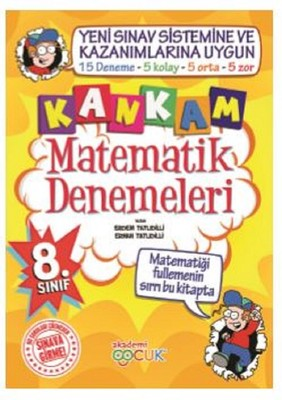 Kankam 8.Sınıf Matematik Denemeleri