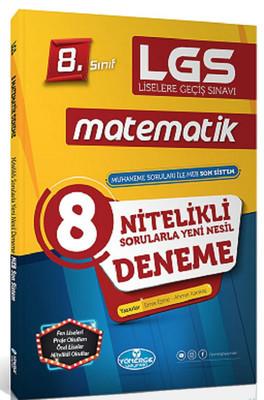 8.Sınıf LGS Matematik 8 Genel Deneme