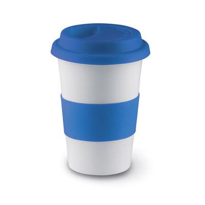 Nektar Kapaklı Seramik Mug Mavi