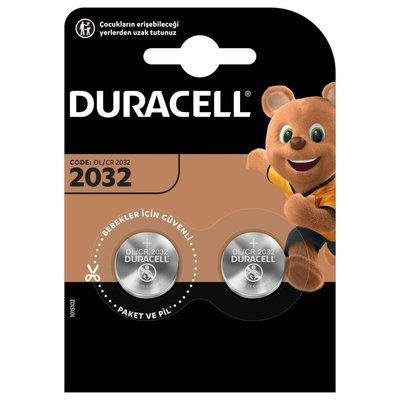 Duracell Düğme Pil 2032 2'li 3Volt