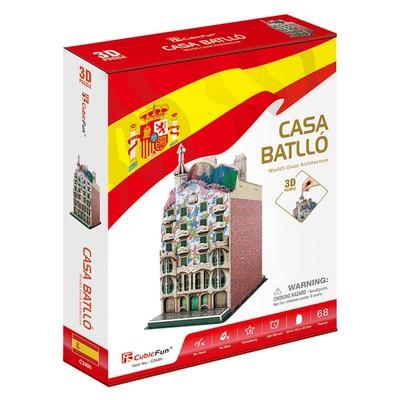 CubicFun-3D Puz.Casa Batllo Binası - İspanya