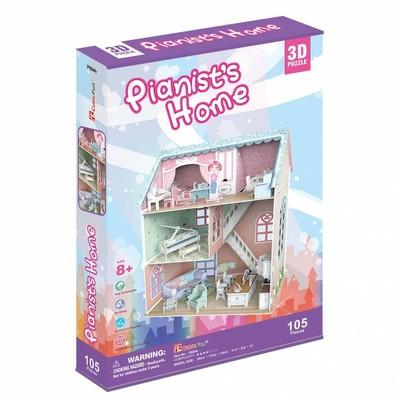 CubicFun 3D Puzzle Piyanistin Evi