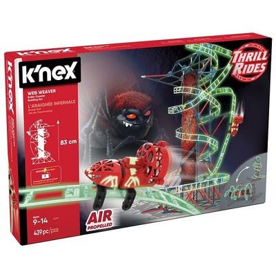 K'nex-Web Weaver Rol.Coaster Motorlu Set