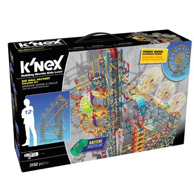 K'nex-Big Ball Factory Set Motorlu