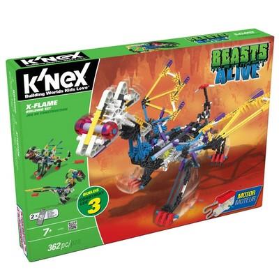 K'nex-X-Flame Yapım Seti Motorlu