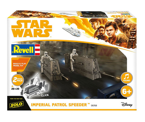 Rev-Maket Sw Imperial Patrol Speeder 6768
