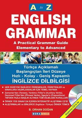 A to Z English Grammar A'dan Z'ye İngilizce Dilbilgisi