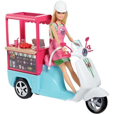 Barbie Yemek Arabası FHR08