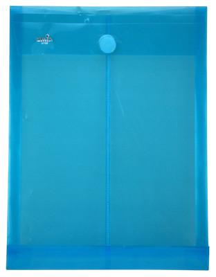 Umix Çıtçıtlı Zarf Dosya Üstten Kapak Mavi