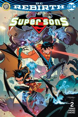 DC Rebirth-Super Sons Sayı 2