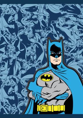 Batman Text Up Defter A4  Kareli