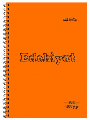 Mynote Edebiyat  Defteri A4 100 Yaprak Çizgili