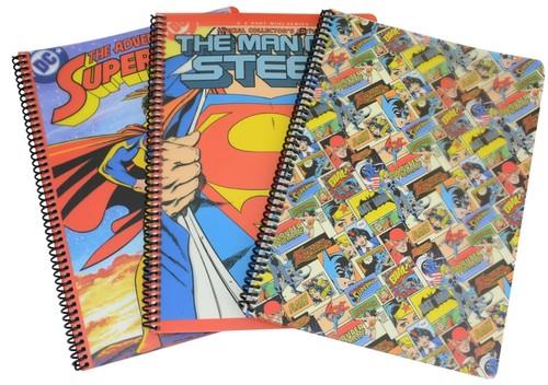 Superman Flex Up Defter A4 Kareli