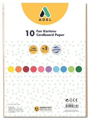 Adel Fon Kartonu 25x35 Karışık