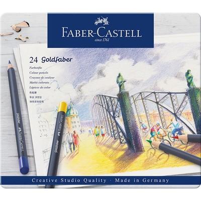 Faber Castell Goldfaber Kuru Boya Kalemi 24 Renk