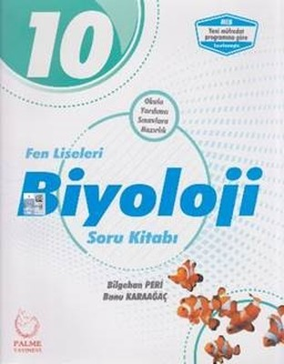 10.Sınıf Fen Liseleri Biyoloji Soru Kitabı