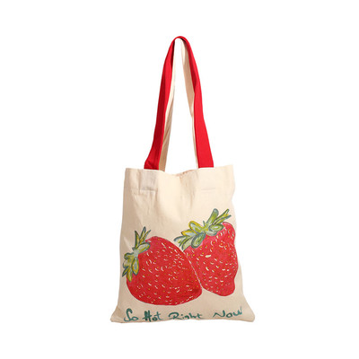 OrganiCraft- Strawberry Bez Omuz Çantası