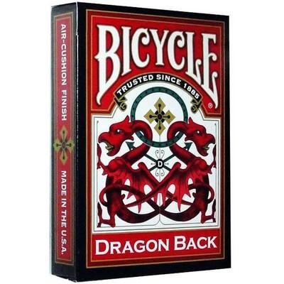 Bicycle-Oyun Kartı Red/Blue Dragon