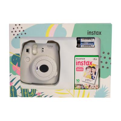 Fuji Instax 9 Box Mini Beyaz Fotsı00079