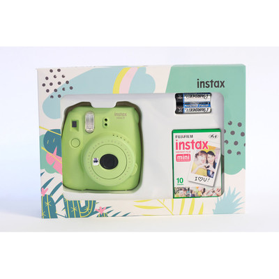 Fuji Instax 9 Box Mini Yeşil Fotsı00079