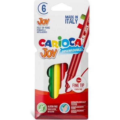 Carioca Keçeli Boya Süper Yıkanabilir 6Lı