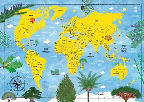Ağaç Atlası-Harita Hediyeli