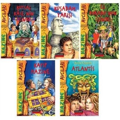 Hazine Avcıları Dizisi Seti-5 Kitap Takım