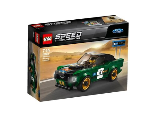Lego-Speed 1968 Ford Mustang Fastback