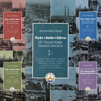 Riyaz-ı Belde-i Edirne-5 Cilt Takım