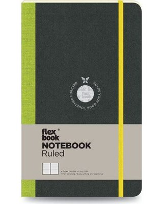 Flexbook Defter Çizgili 13x21 Açık Yeşil