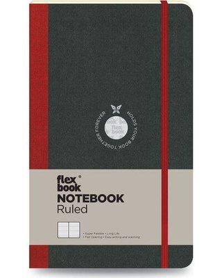 Flexbook Defter Çizgili 13x21 Kırmızı