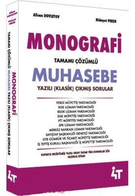Monografi-Tamamı Çözümlü Muhasebe-Yazılı Çıkmış Sorular